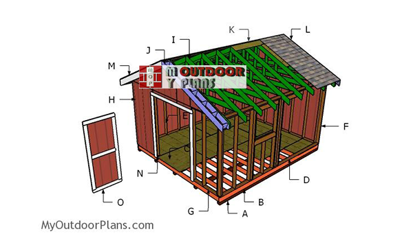 Building-a-14x16-shed