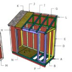4×10 Lean to Shed Roof Plans