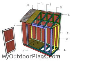 Building a 4x10 shed