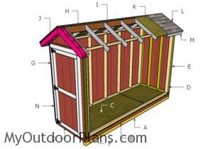 Building a 4x12 shed