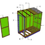 4×8 Ice Shack Roof Plans