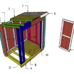 5×7 Lean to Shed Roof Plans