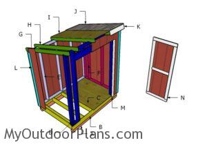 Building a 5x7 shed