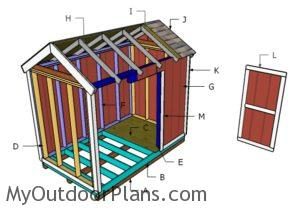 Building a 6x10 shed