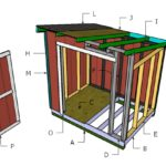 6×8 Lean to Shed Roof Plans