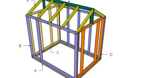 6×8 Greenhouse Door, Vents and Trims Plans