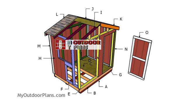 Building-a-6x8-ice-fishing-house