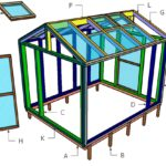 8×10 Greenhouse Doors, Vents and Trims Plans