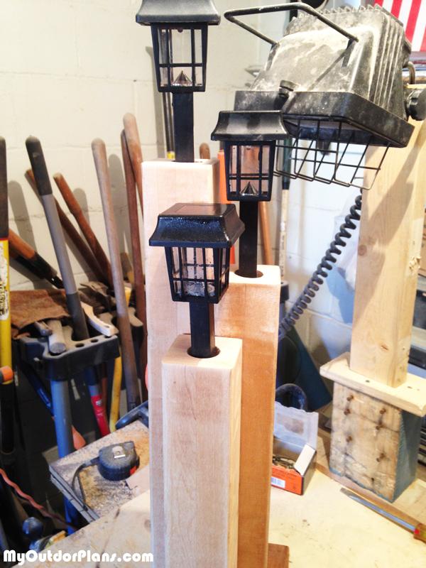Building-a-Lantern-Post