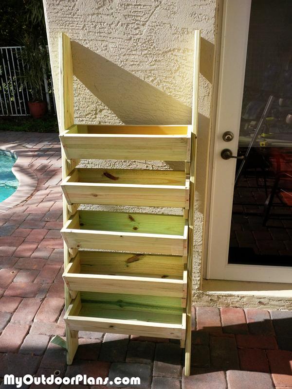 Building-a-herb-planter