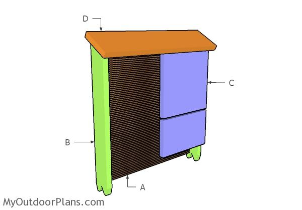 Simple Bat House Plans | MyOutdoorPlans | Free Woodworking Plans ...
