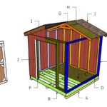 8×8 Small Shed Roof Plans