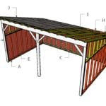 Tractor Lean to Shed Roof Plans