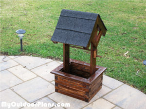 Building-a-wishing-well-planter