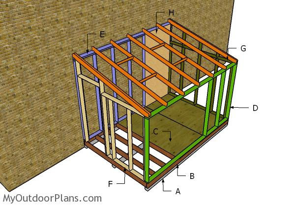 Attached greenhouse plans myoutdoorplans free for House plans with greenhouse attached