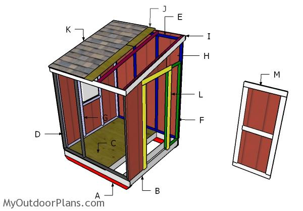 Portable Ice Shanty Plans | MyOutdoorPlans | Free ... on drop axle ice house plans, permanent ice house plans, dark house plans, portable chicken house plans, air conditioner ice chest plans, portable small house plans, ice house construction plans, portable fish house plans, fish house axle plans, ice house frame plans, ice house floor plans, ice house on wheels plans, shack ice fishing house plans, portable barn plans, homemade ice house plans, ice house design plans, 8x16 fish house frame plans, portable dog house plans, cool ice house plans, ice spearing house plans,