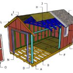 Outdoor Storage Roof Plans