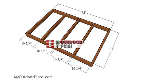 Building-floor-frame-deer-stand