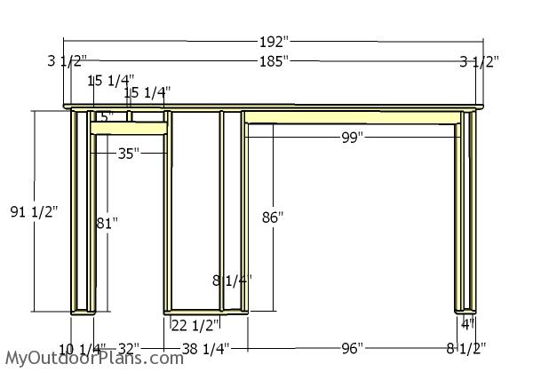 16x24 Shed Plans | MyOutdoorPlans | Free Woodworking Plans and
