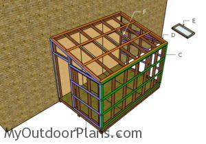Building the greenhouse trims