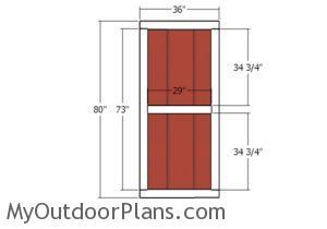 Building the single door