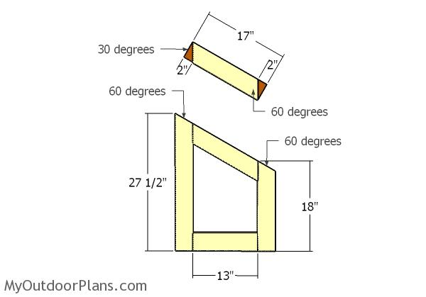 Gambrel Small Chicken Coop Nest Boxes Plans Myoutdoorplans Free Woodworking Plans And