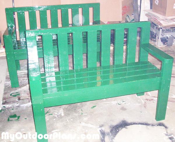 DIY 2×4 Benches