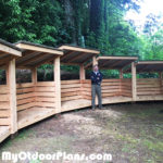 DIY Arc Woodshed