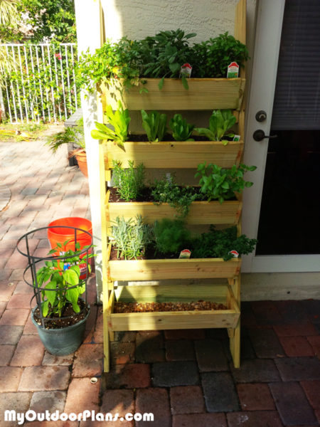 diy herb planter myoutdoorplans free woodworking plans and