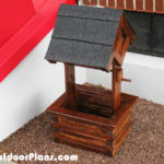 DIY Small Wishing Well Planter