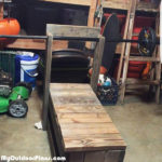 DIY Wood Weight Bench