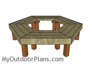 DIY tree bench plans