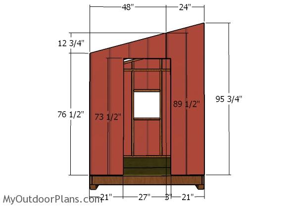 Door wall - Siding