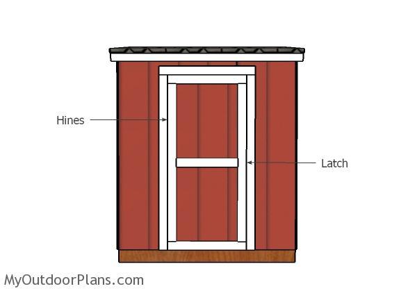 Fitting the door
