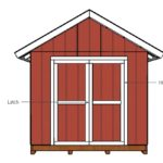 DIY Shed Doors for a 10×20 Shed