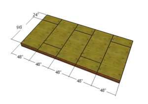 Fitting-the-floor-sheets