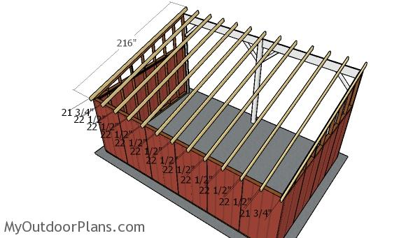 Tractor Lean To Shed Roof Plans Myoutdoorplans Free
