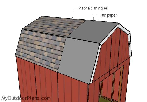 10x12 Gambrel Shed Roof Plans Myoutdoorplans Free