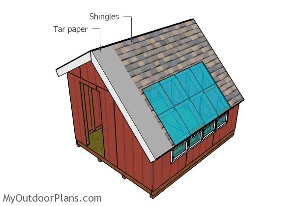 10x12 Greenhouse Shed Roof Plans Myoutdoorplans Free