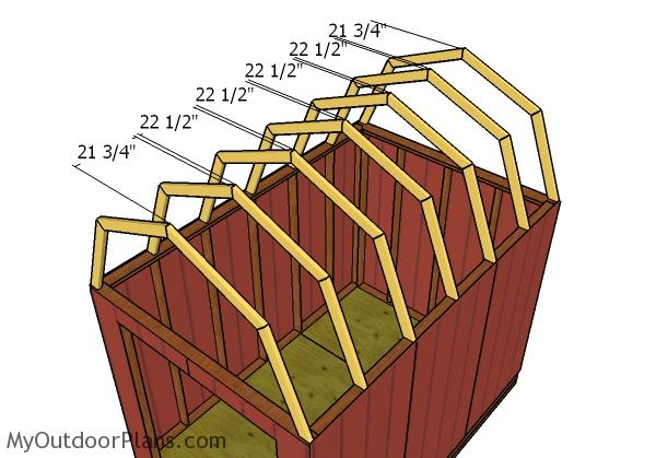 8x12 Gambrel Shed Roof Plans Myoutdoorplans Free