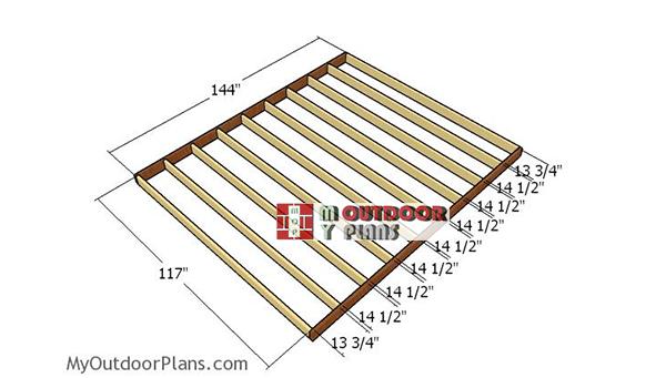Floor-frame---10x12