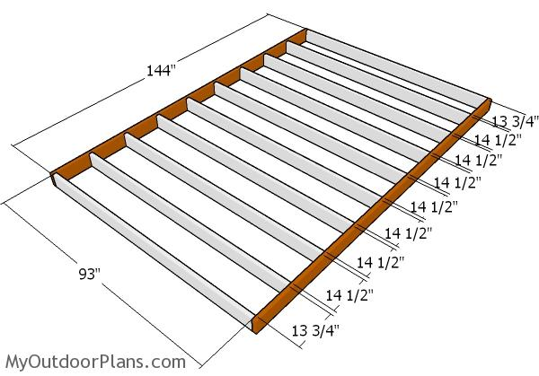 8x12 Shed Plans | MyOutdoorPlans | Free Woodworking Plans