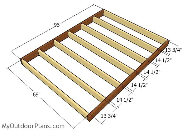 6x8 Lean To Shed Plans Myoutdoorplans Free Woodworking