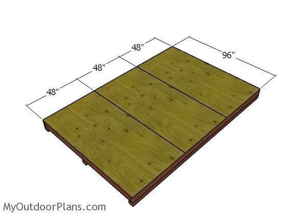 Floor frame