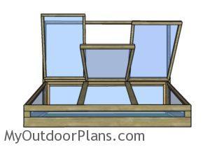 Free cold frame plans