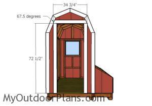 Front door trims