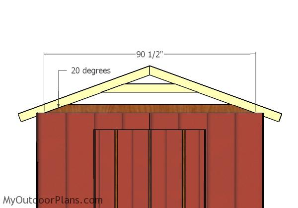 8x8 Small Shed Roof Plans Myoutdoorplans Free