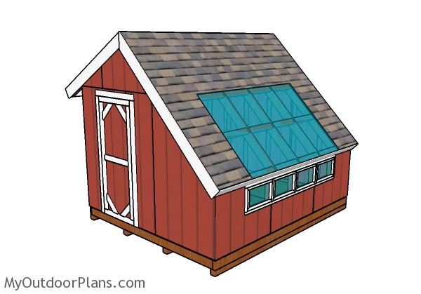 Greenhouse Shed Plans | MyOutdoorPlans | Free Woodworking Plans and ...