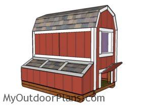 How to build a 4x8 chicken coop