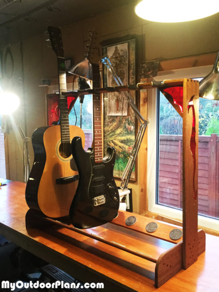 Dragon Multi Guitar Stand | MyOutdoorPlans | Free Woodworking Plans and Projects, DIY Shed ...
